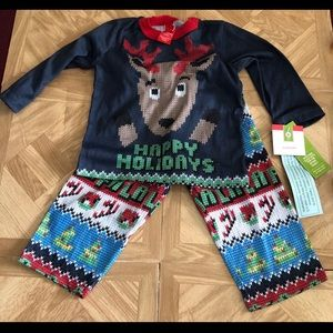 Children's Happy Holiday  pajamas size 12 months.